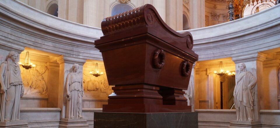 Napoleone Bonaparte - sarcogafo